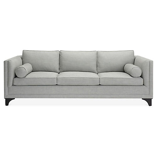 Downing Sofa, Heather Gray