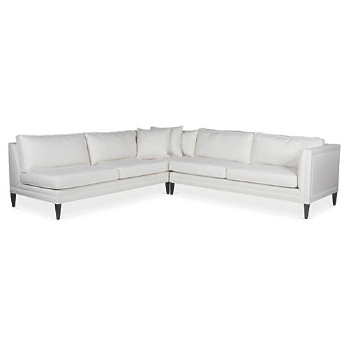 Downing Sectional, Pearl