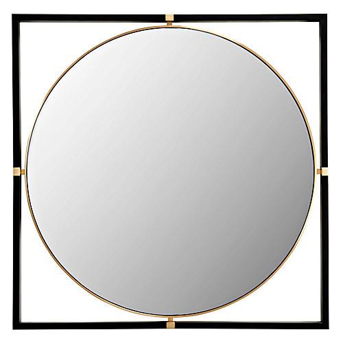 Humphrey Wall Mirror, Black