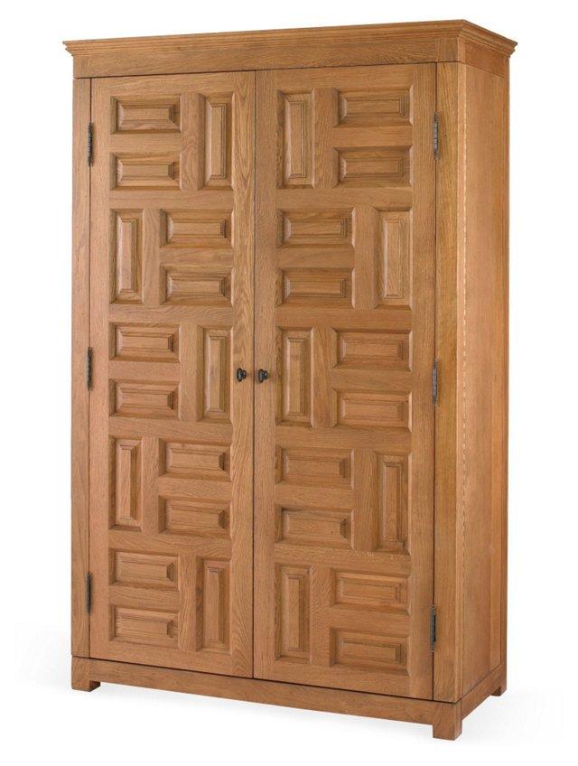 Driftwood Bar Cabinet
