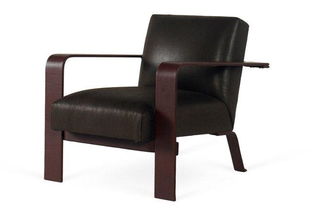 City Modern Chair, Black