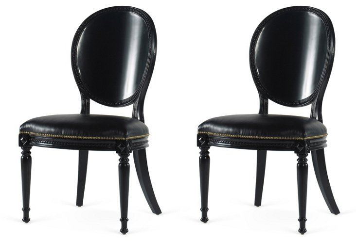 One Fifth Side Chair, Pair