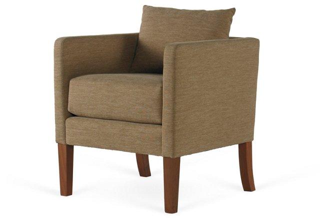 Desert Modern Chair, Moss