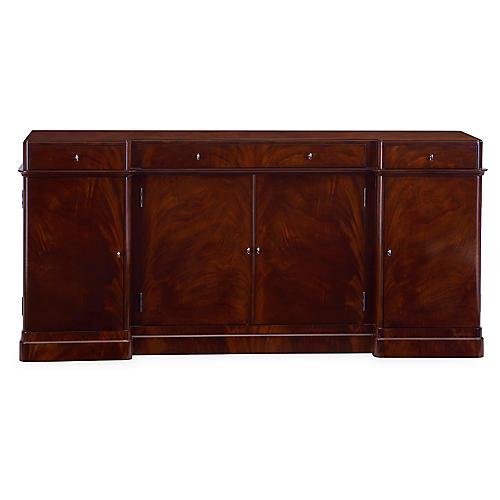 Mayfair Sideboard, Classic Mahogany