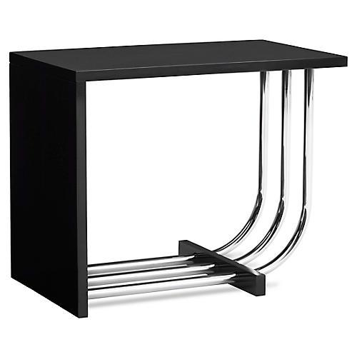 Tubular Steel Bauhaus Side Table