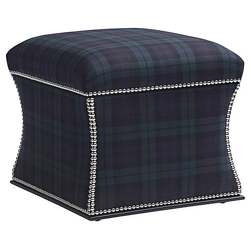 Florence Storage Ottoman, Blackwatch