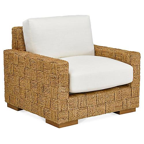 Black Palms Accent Chair