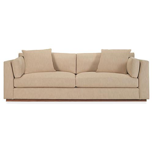 Desert Modern Sofa, Twig Linen