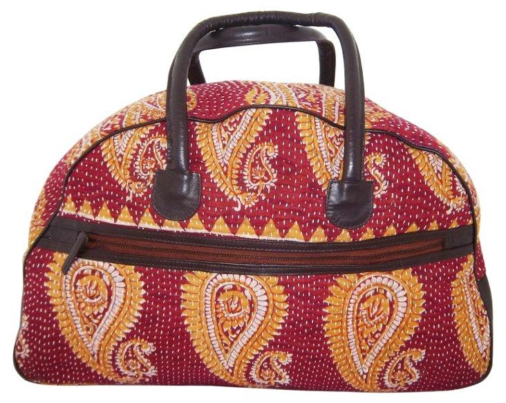 Piper Weekender Bag, Red