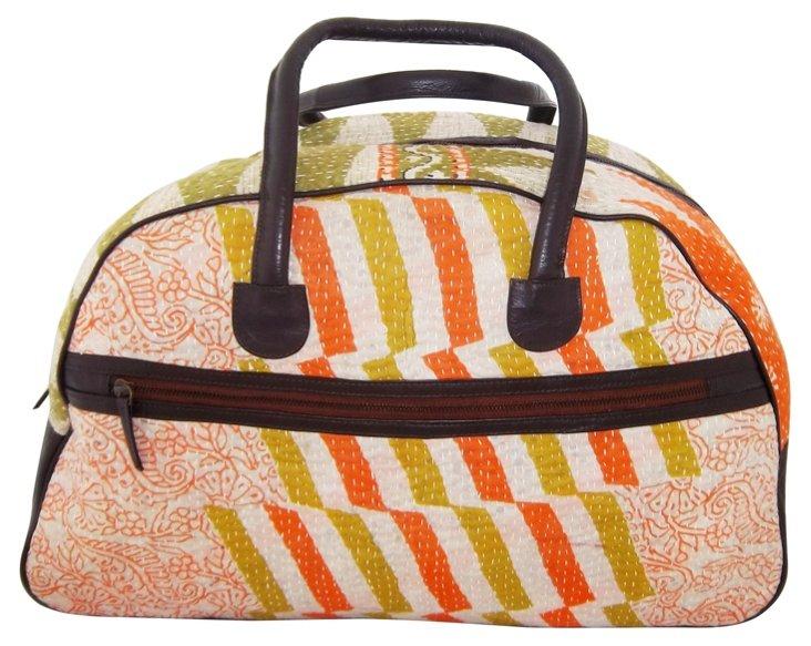 Callais Weekender Bag, Orange