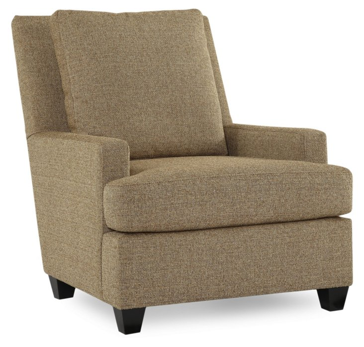 Viceroy Club Chair, Taupe