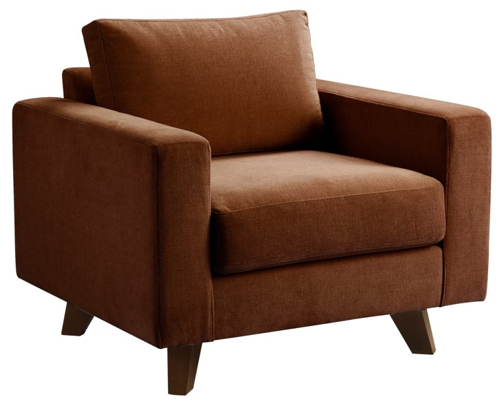 Baxter Chair, Mocha