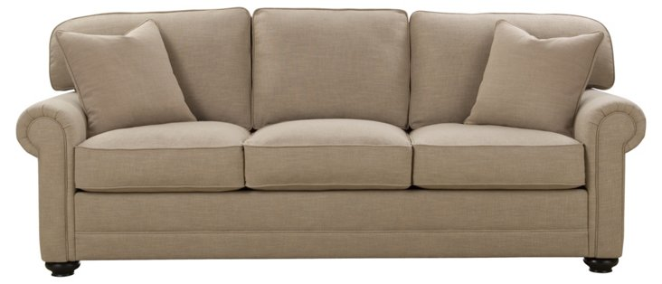 "Westport 88"" Sofa, Oatmeal"