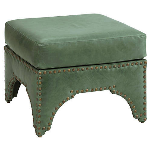 Candemir Ottoman, Green Leather