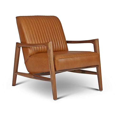 Regis Chair, Saddle Leather