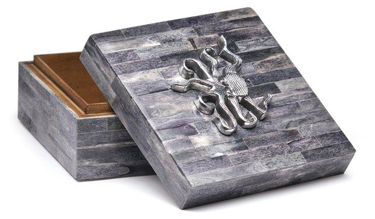 """6"""" Horn Box w/ Octopus"""