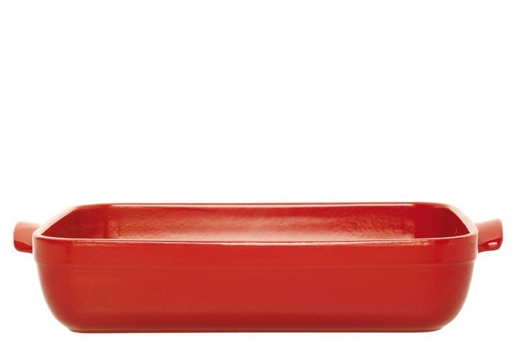 Large Flame Roaster, Red