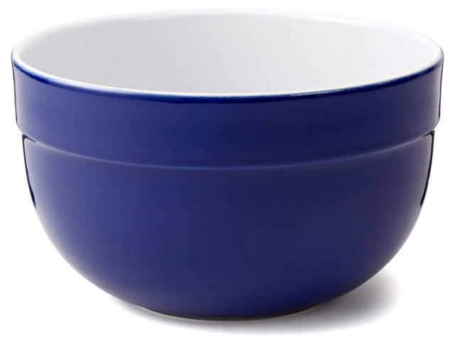 S/3 Assorted Deep Mixing Bowls, Blue