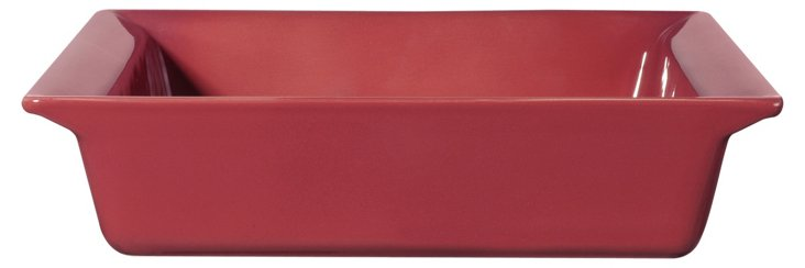 "10"" Square Baking Dish, Raspberry"