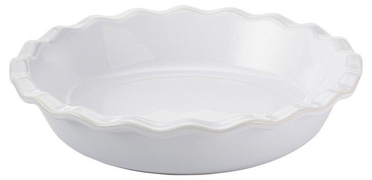 Pie Dish, Blanc