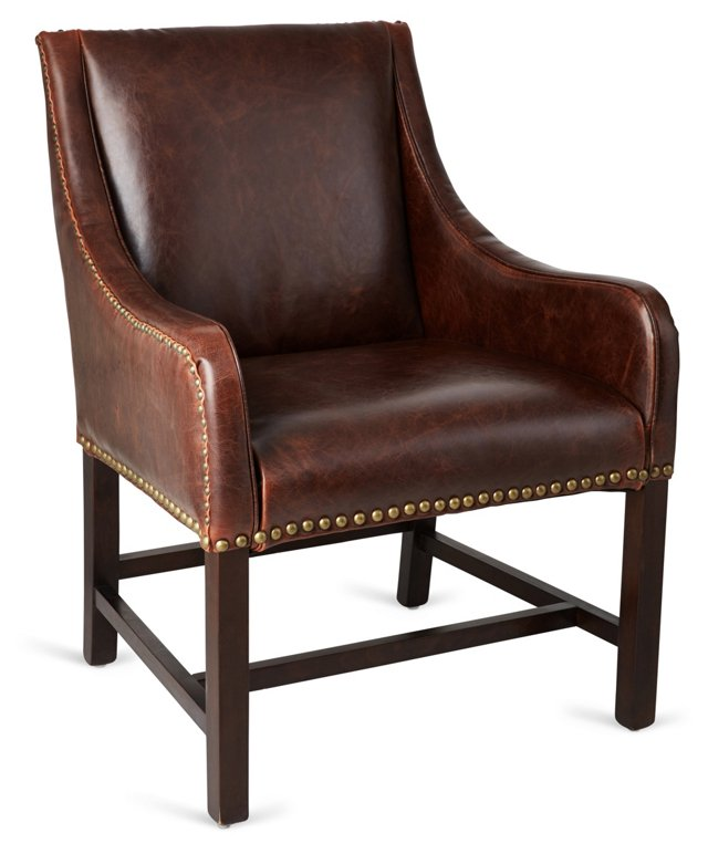 Manchester Leather Wingback, Saddle