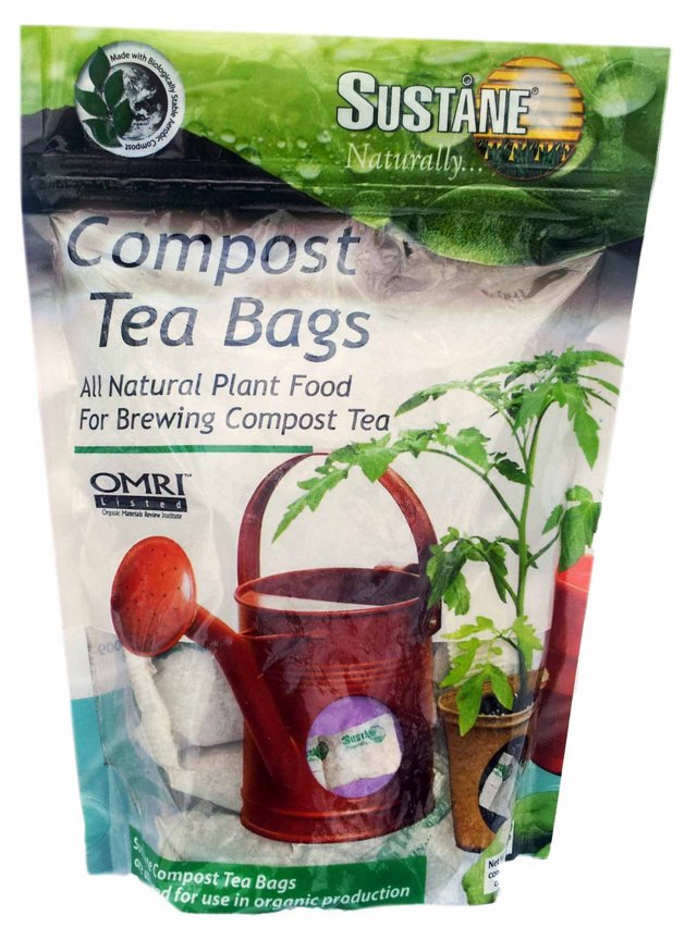 S/3 Compost Tea Bags w/ Fertilizer