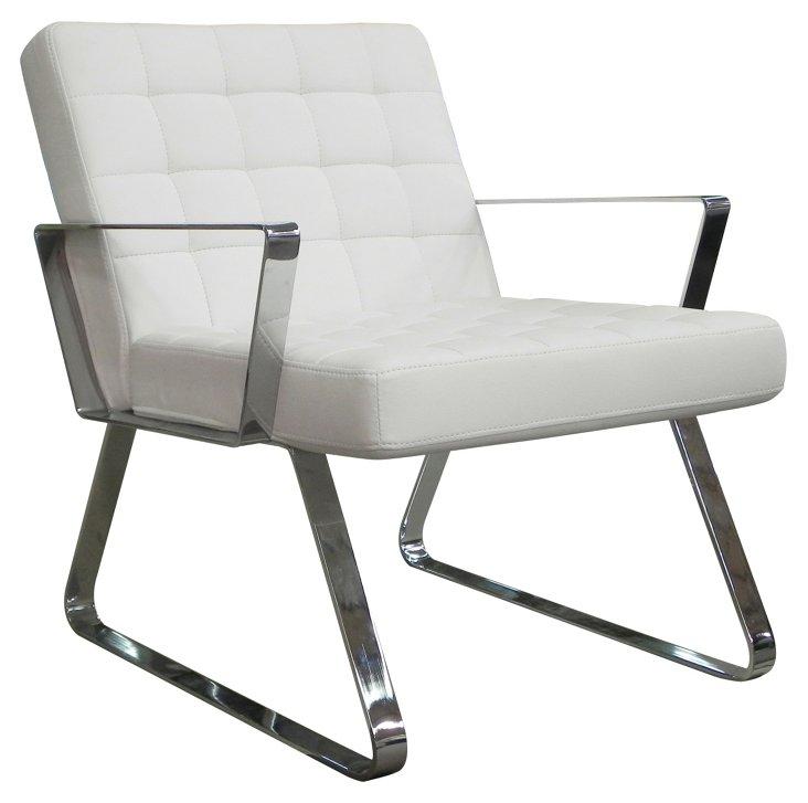 DNU, O-Century Chair, White/Si