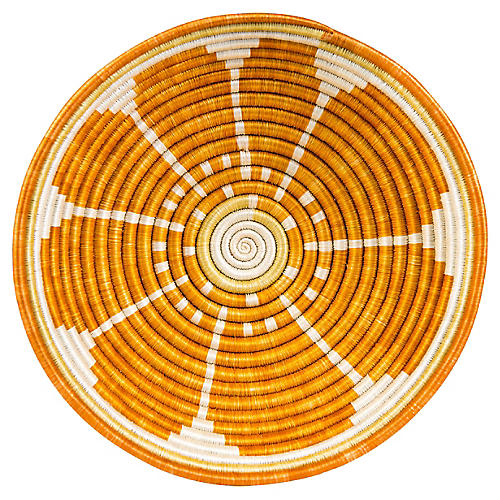Slice Basket, Orange/Multi