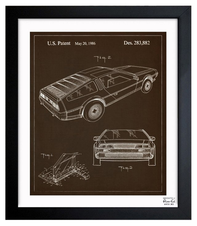 Oliver Gal, DeLorean, 1986