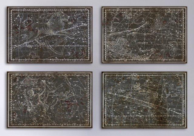 Oliver Gal, Celestial Map XVI Century I