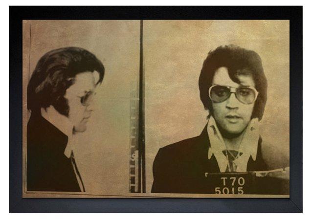 Oliver Gal, Elvis Mugshot