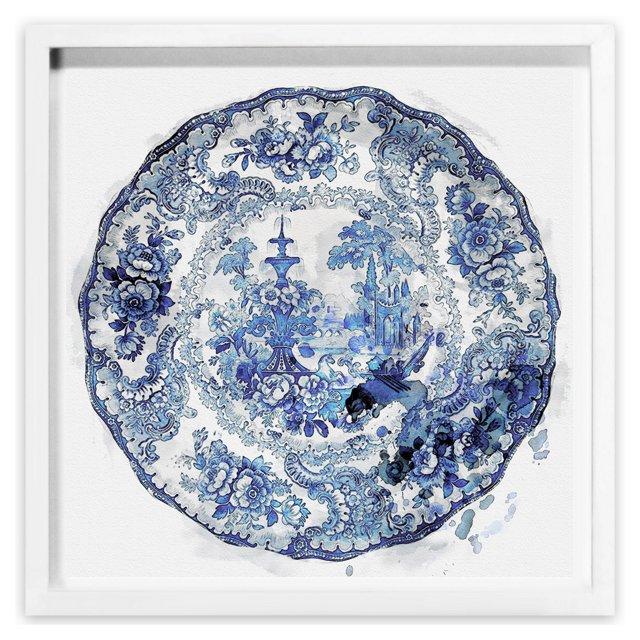 Oliver Gal, Vintage Plate I
