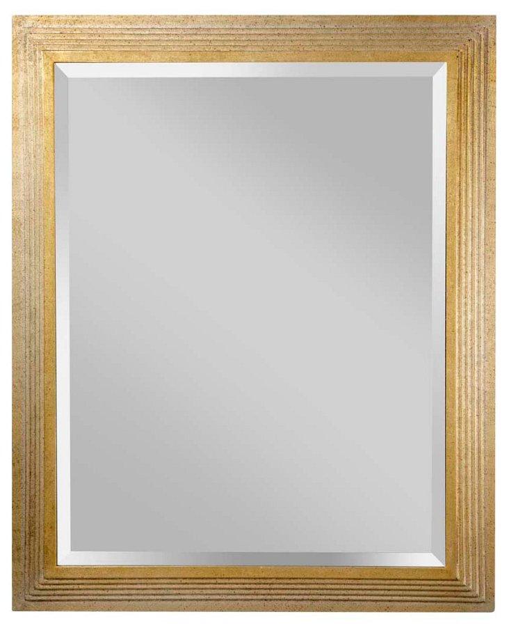 Smith Wall Mirror, Gold/Silver