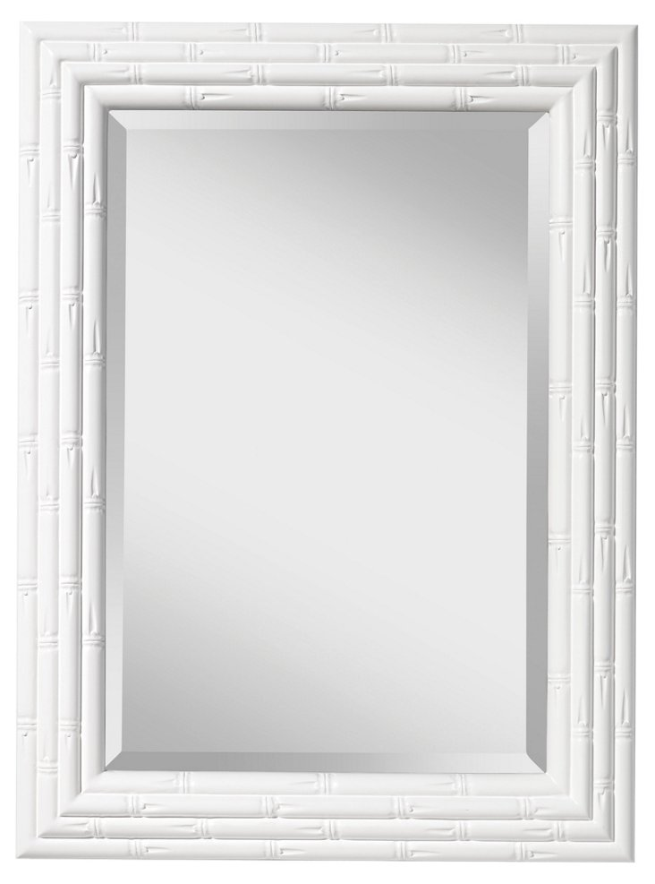 Beverly Wall Mirror, White