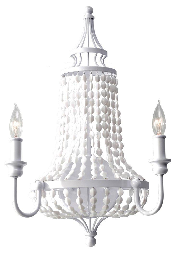 Maarid 2-Light Wall Sconce, White