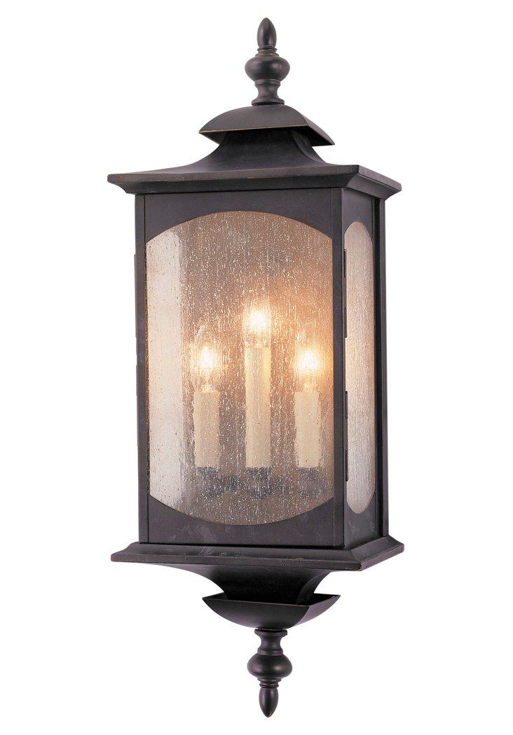 Market 3-Light Wall Lantern, Bronze
