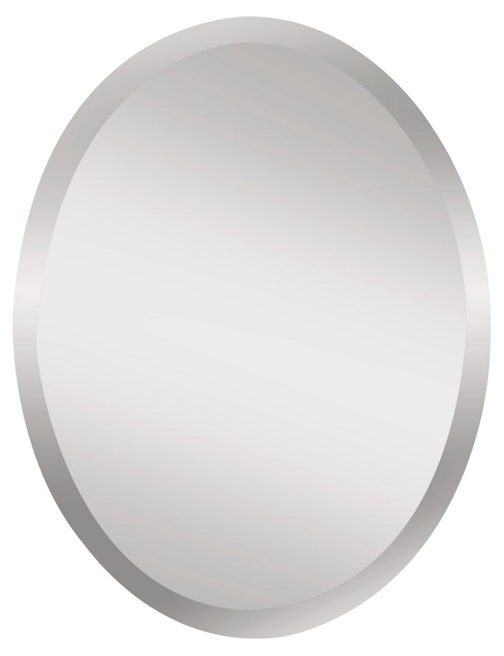 Theo Wall Mirror, Clear