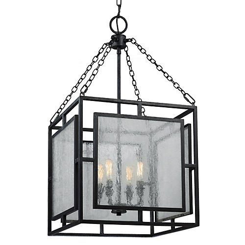 Noreen 4-Light Pendant, Zinc