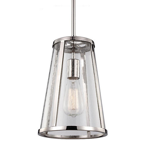 Harrow 1-Light Pendant, Nickel
