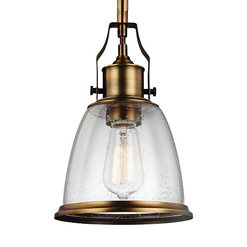 Hobson Mini-Pendant, Clear