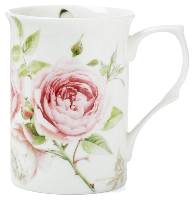 S/4 Beau Rose Mugs