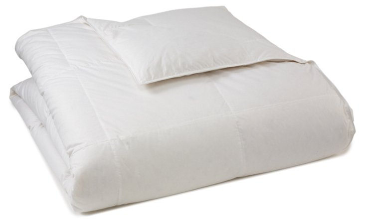 White Down Comforter, All Year