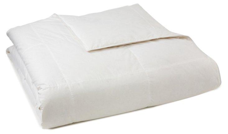 Down/Lyocell Comforter, Summer-Wt