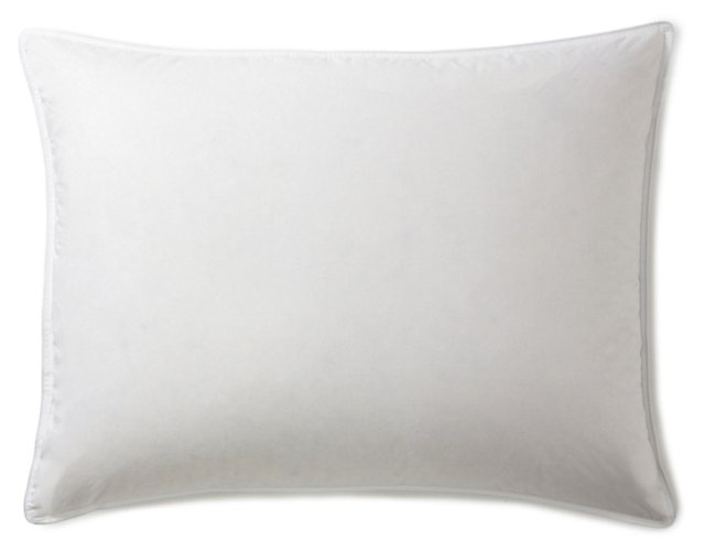 Luxury Fill Pillow & Protector, Med