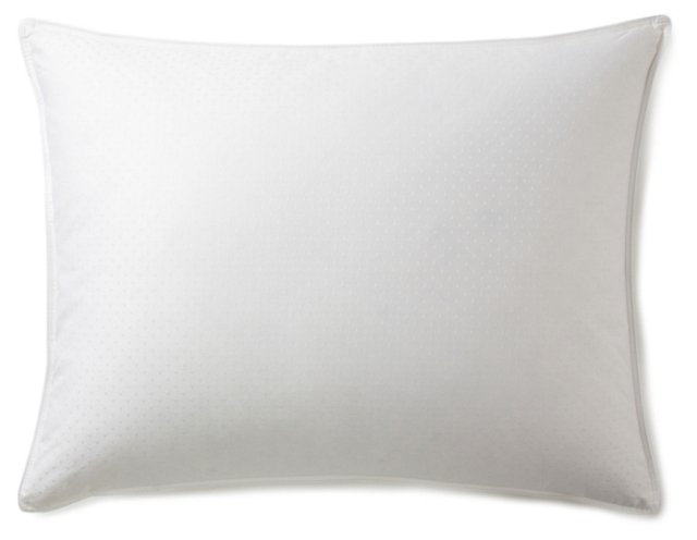 Down Dot Pillow/Protector, Firm
