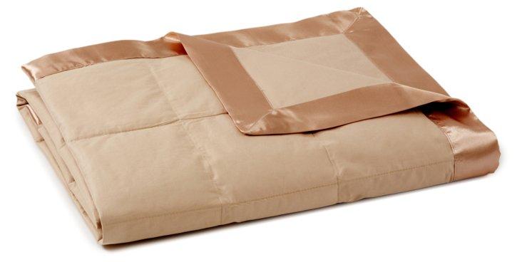Down-Alternative Blanket, Sand