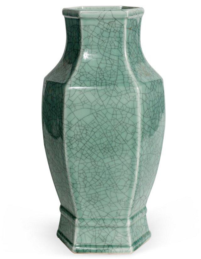 Hexagonal Vase