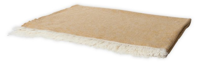 Rosecrans Butterscotch Blanket, Full