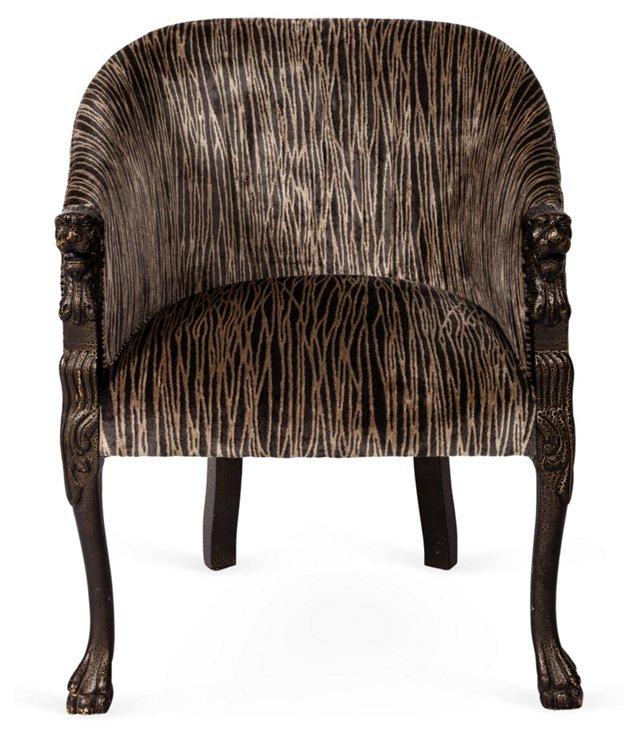 Lion-Head Chair