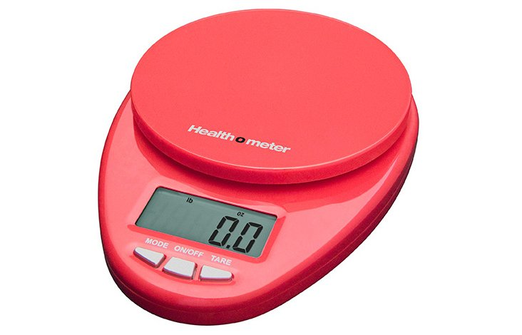 Health-o-Meter Kitchen Scale, Red